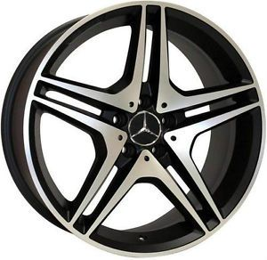 "22"" Wheels for Mercedes R350 ML350 500 GL450 550 Set of 4 Rims AMG Style"
