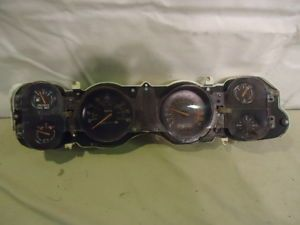 1974 81 Camaro Z28 85MPH Speedo Gauge Cluster 7 Grand Tach for Parts or Use
