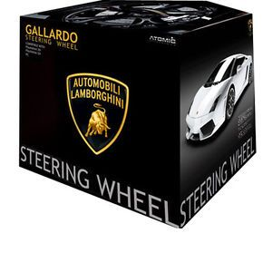 Lamborghini Gallardo Steering Wheel EVO for PS3 PS2 and PC