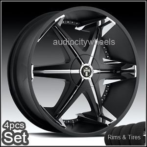 "26""inch Dub Wheels and Tires for Land Range Rover Rims"