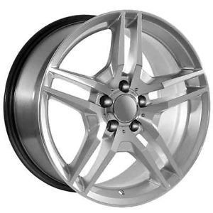 "18"" inch Mercedes Benz Wheels Rims Fit AMG Models C CL CLK CLS E s SLK Class"
