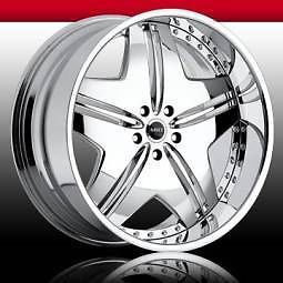 "22""MHT Dub Wheels Rims Range Rover BMW 6 7 Series"