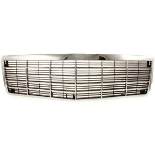 New Grille Assembly Grill Chrome de Ville Cadillac Fleetwood GM1200432 25614636