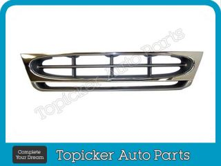 1997 2002 Ford Econoline Van E150 E250 E350 Grille Chrome Silver Gray New
