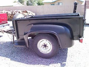 1956 Ford Pickup Bed Trailer Classic Antique Parts Vintage