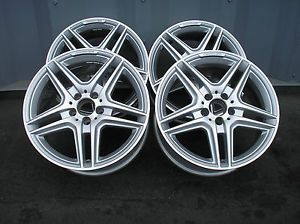 4 2013 Mercedes Benz AMG E Class Wheels Rims 4 Matic RARE Beautiful New