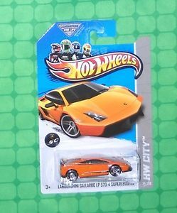 2013 Hot Wheels 29 Nightburnerz Lamborghini Gallardo LP 570 4 Superleggera