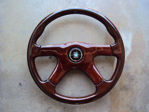 Nardi Gara 4 Spoke Wood Steering Wheel 360mm Mercedes Benz BMW Porsche VW JDM