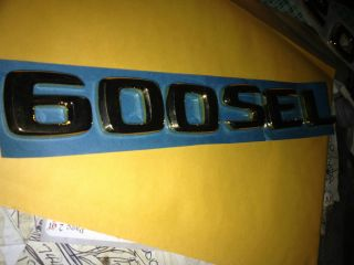 600SEL ABS Gold Emblem Original Mercedes Benz Parts Germany Made