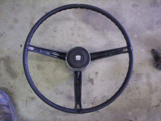 1966 Cadillac DeVille Fleetwood Interior Steering Wheel Hot Rod Rat Rod Parts