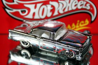Hot Wheels Classics Series 4 14 '56 Chevy Chrome