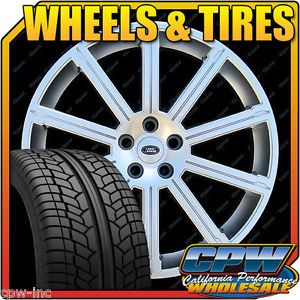 "New 22"" inch Set of Wheels Rims Tires Package Range Rover Sport Supercharged"