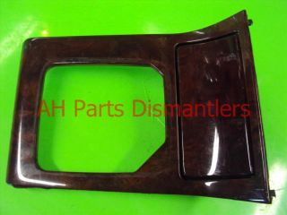 99 00 01 02 Acura RL Floor Shifter Bezel Wood Grain 77293 Sz3 A90ZA