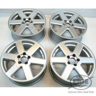 Set of 4 Volvo 17x7 Neptune Alloy Rims Wheels for XC90 03 06