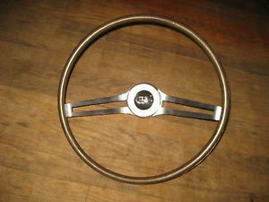 1963 65 Buick Riviera Wood Grain Steering Wheel