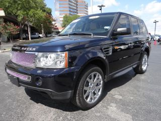 2008 Land Rover Range Rover Sport HSE Moonroof Chrome Wheels Custom Grille
