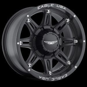 "CPP American Eagle 027 Wheels Rims 20x9"" Fits Chevy Colorado GMC Canyon"