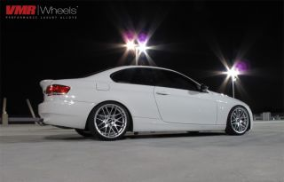 "VMR 19"" VB3 CSL Style Wheel Super Silver BMW 3 Series E90 E92 328i 335i"
