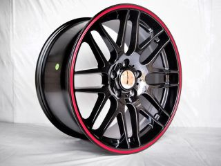 4 19x8 5 9 5 CSL Style Time Attack Black Wheels for BMW 3 Series