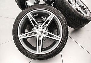 "Mercedes 18"" AMG SL55 Rims Tires"