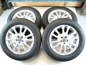 4 Volvo 18x7 5 Mantus Alloy Rims Wheels Tires Caps for XC60 09 12
