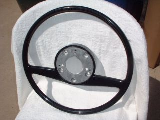 New Factory Mercedes Benz W113 280SL Pagoda Black Steering Wheel New in Box