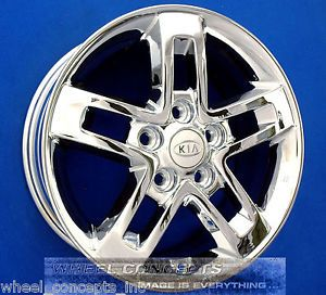 "Kia Soul 16 inch Chrome Wheel Exchange 16"" Rims New 2012"