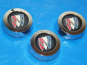 "Buick 14"" Rally Wheel Center Caps Used GS Regal Stars Skylark Gran Sport"
