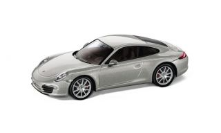 Porsche 911 Carrera s 991 Diecast Model Car Platinum Silver 1 43 Scale