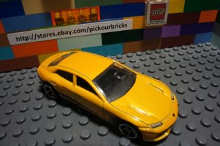 Hot Wheels Yellow Lamborghini Estoque HW All Stars '12 Series 8 10