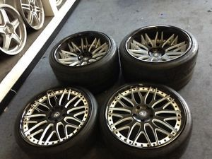 20 inch Lamborghini Murcielago LP640 LP670 Wheels Rims Tires 3 Pieces HRE Rennen
