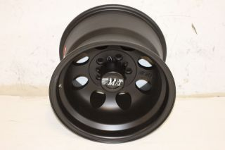 1 Black Mickey Thompson Classic II Wheel 15x10 5x4 5 87 06 Jeep Wrangler YJ TJ
