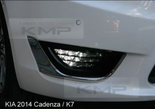 Genuine Parts Fog Light LED Lamp Cover for Kia 2014 Cadenza K7