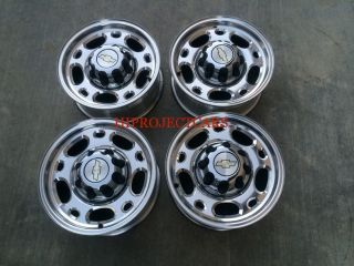 "Factory Chevy 2500 3500 16"" Wheels Rims GMC Sierra"