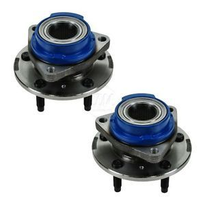 Buick Chevy Pontiac Front Wheel Hub Bearing Assembly Pair Set New