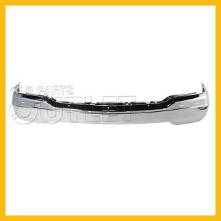 99 02 GMC Sierra Front Chrome Bumper New Assembly w O Air Hole Replacement 00 01