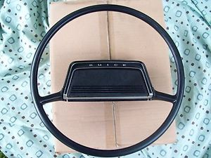 1969 1970 1971 Buick Skylark GS Sport Wagon LeSabre Black Steering Wheel