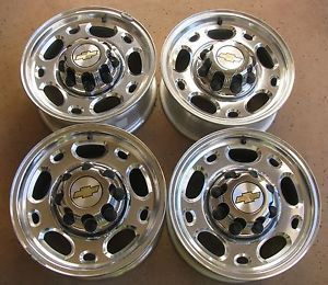 16 inch Chevy GMC 2500HD Aluminum Alloy Truck Wheels Rims GM Chevy 8 Lug