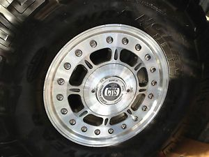 Hummer H1 2 Piece 17inch Hutchinson Wheels Tires Ctis