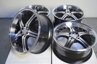 "18"" Effect Wheels Rims 4 Lugs Nissan Cube Altima Accord Legend Yaris Miata Civic"