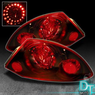 00 02 Mitsubishi Eclipse LED Rims Tail Brake Lights Lamps Left Right Pair Sets