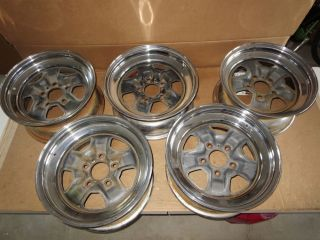 1969 Oldsmobile Hurst Olds Chrome Wheels Full Set