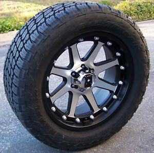 "18"" Machined XD Addict Wheels 33"" Nitto Terra Grappler Jeep Wrangler JK Sahara"
