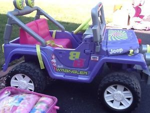Power Wheel Fisher Price Barbie Jammin Jeep