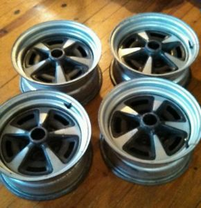15 x 7 Pontiac GTO Firebird Rally II Wheels Rallye 2 Rims 68 69 70 71 72 73 74