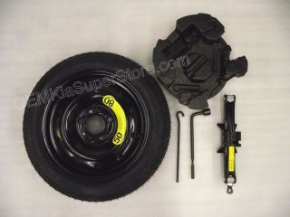 "2012 2013 Kia Soul 16"" Spare Tire Kit w Jack Rim Tools Temporary Wheel"