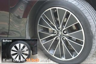 Kia 2011 2013 Optima K5 Carbon Wheel Mask Decals Stickers 18inch 1set