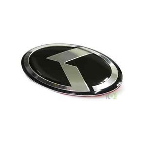 BK Kia Optima K Logo Emblem Badge Steering Wheel Emblem