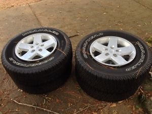 2014 Jeep Wrangler Rims and Tires New