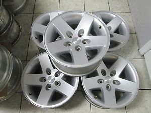 "16"" Jeep Wrangler Rubicon TJ Sahara Factory Wheels Rims Set 5"